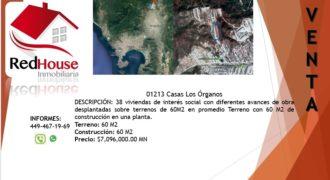01213 SE VENDE CASA EN LOS ÓRGANOS.