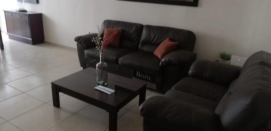 01623 SE RENTA HERMOSA AMUEBLADA EN RESIDENCIAL PUNTA DE SANTA MONICA.
